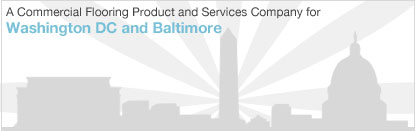 A full-service commercial flooring company serving, Washington DC and Baltimore Maryland
