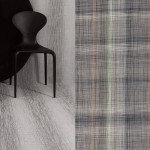 Chilewich Shade Birch and Plaid Gray