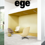 Ege Carpets Transitions ombre carpet tiles from recycled yarn